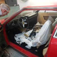PEINTURE COMPLETE INTERIEURE-EXTERIEURE FERRARI 308 GT4