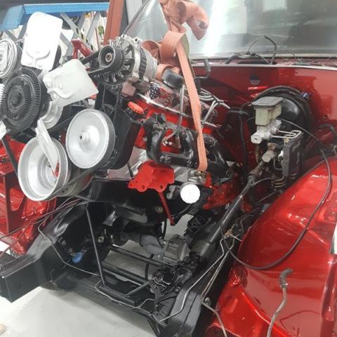 RESTAURATION 4X4 GMC K1500 DE 1989