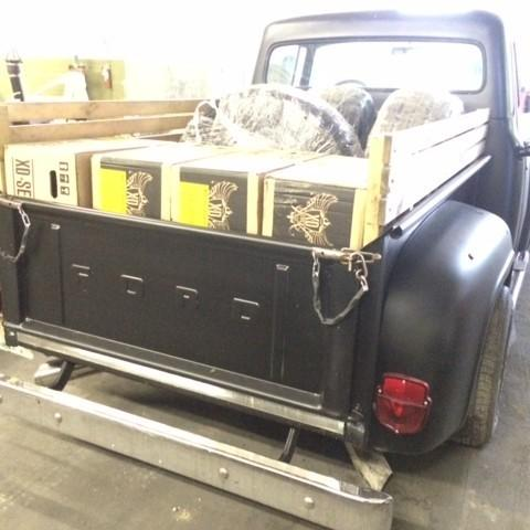 Restauration d'un FORD F100 de 1955 - Suite